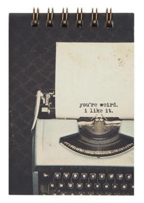 Typo mini notebook