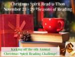 Christmas Spirit Read-a-Thon kickoff: The Santa Claus Man #CSreadathon