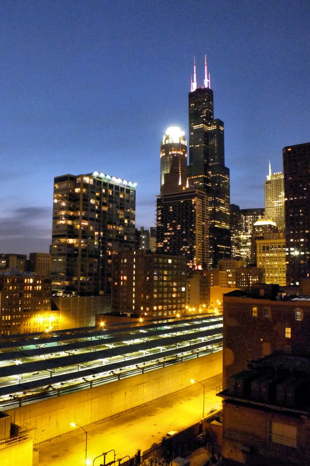 """""""Sears Tower - BP Balcony"""" image by Flickr user - EMR -"""