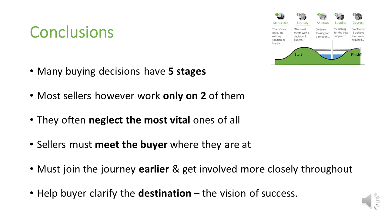 5 stages conclusions
