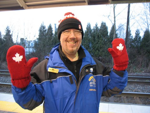 Mike, a West Coast Express attendant at Maple Meadows.