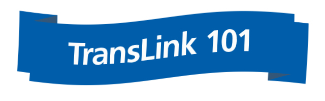 TransLink 101 blog feature series banner