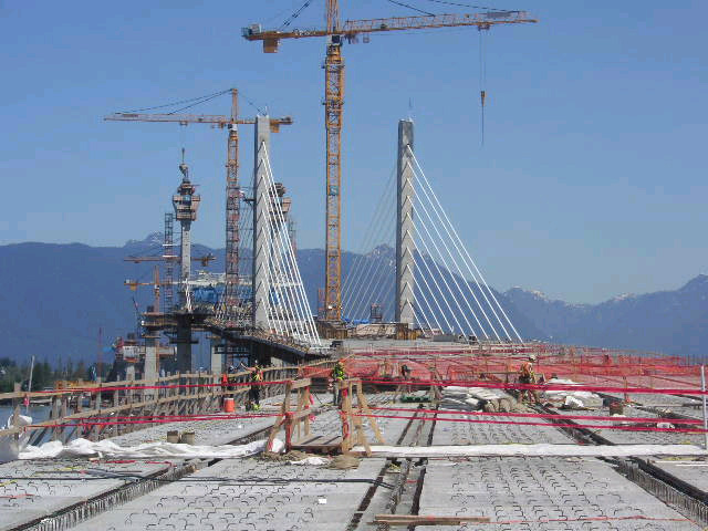 Bridge deck construction - taken July 2008