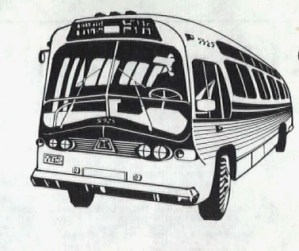 1981 - bus drawing