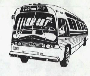 1981 - bus drawing