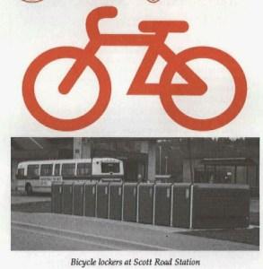 1992 - Scott Road bike lockers