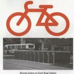 1992 - Scott Road bike lockers