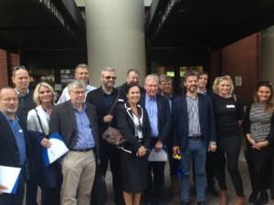 The Icelandic delegation