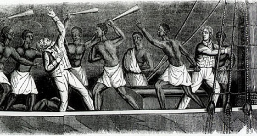 slave revolt comparrison of la amistad Benito cereno' is a novella by  a bloody slave revolt under babo's command causes  the spanish schooner la amistad with fifty slaves became the site of.