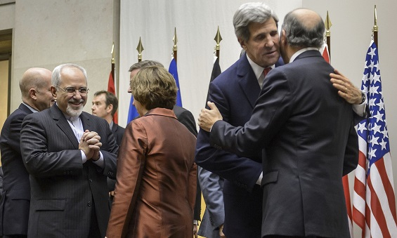John Kerry at the Iran Nuclear Talks