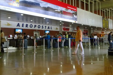"Venezuela's largest airport has implemented a ""breathing fee"""