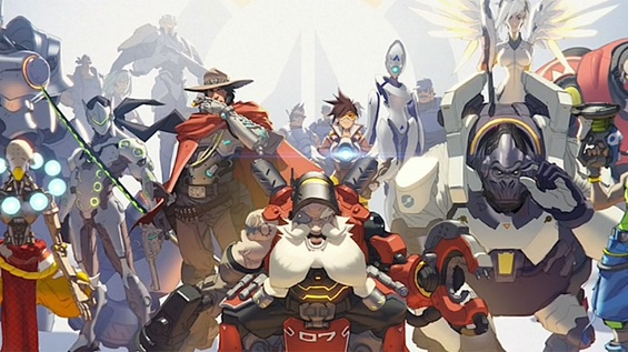 "Blizzard announces a new IP at BlizzCon called ""Overwatch"""