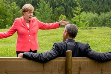 Chancellor Angela Merkel and President Barack Obama
