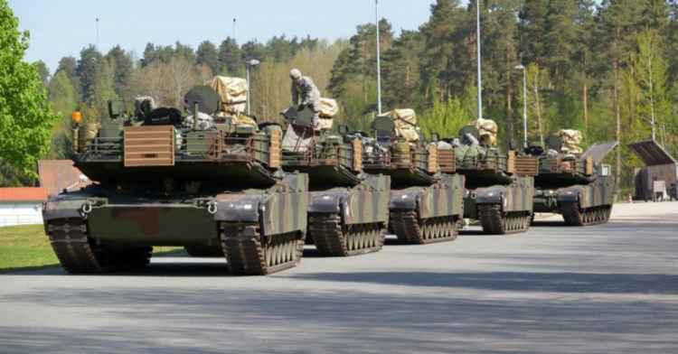 Moving tanks to Eastern Europe is not a message to Russia