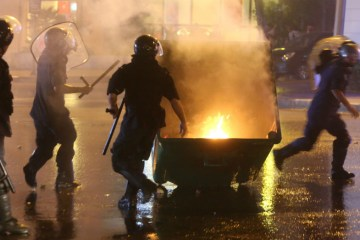 Lebanon Trash Riots