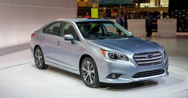 2016 Subaru Legacy Silver