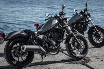 Have a great ride on two wheels. Featuring the Honda Rebel 300 & 500.