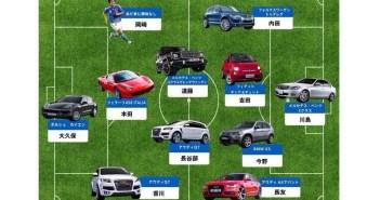 日本代表の車