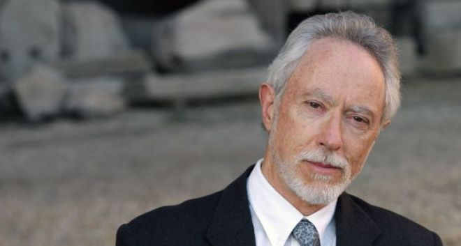 ROME, ITALY:  South-African writer John M.Coetzee, award winner of Nobel Prize 2003  of Literature, poses for photographers in Rome, 22 June 2004 during a literature festival. AFP PHOTO/ Tiziana FABI  (Photo credit should read TIZIANA FABI/AFP/Getty Images)