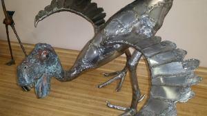 Paul Weber metal birds 1