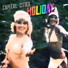 capitalcities-holiday-albumcover