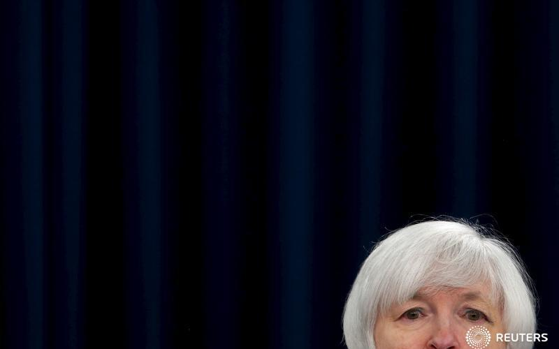 U.S. Federal Reserve Chairman Janet Yellen holds a news conference to announce raised interest rates in Washington December 16, 2015.  REUTERS/Jonathan Ernst - RTX1Z0RH