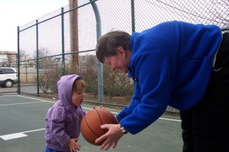 Matilda plays basketball 2004-