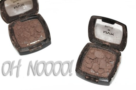 Save a cracked powder product