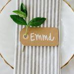 Kreativ torsdag – Bordkort til festen