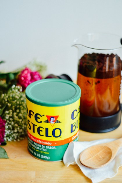 A french press makes for the easiest cold brew iced coffee / bygabriella.co