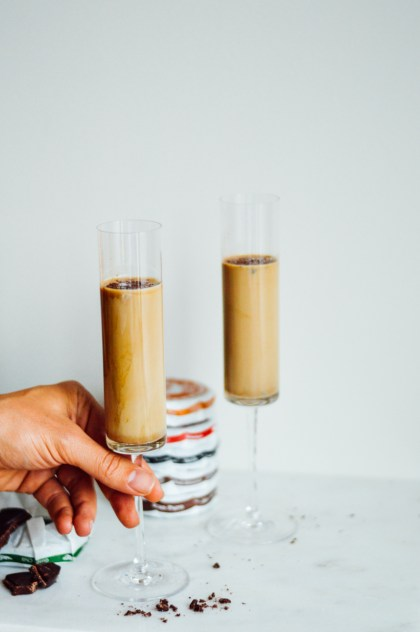 Spiced Tequila Chocktail for your next summer bonfire. Pair it with s'mores for the ultimate dessert. / bygabriella.co