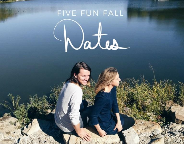 5 fun fall dates By Manna