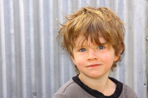 My handsome boy at 4. Photo by John Hambleton