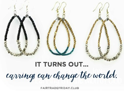 Earrings Can Change the World