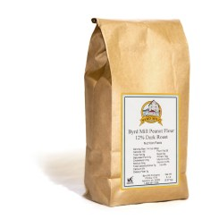 5 lb bag of 12% dark roast peanut flour