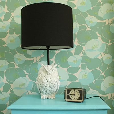 diy owl lamp small