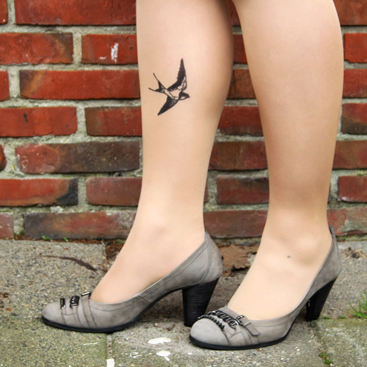 diy tattoo tights small