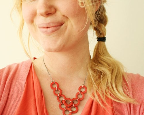 DIY - Washer necklace small