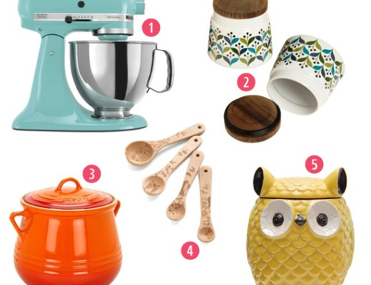 musthaves for the kitchen