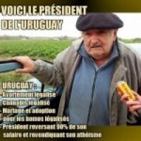 L'Uruguayen José Mujica, un président vraiment pas normal