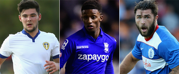 Alex Mowatt (Leeds), Demarai Gray (Birmingham), Charlie Austin (QPR)