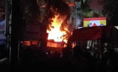 Massive Fire At Hyderabad's Nampally Exhibition Ground, 7 ...