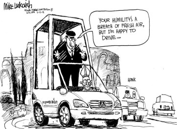 Humble Pope Francis Popemobile