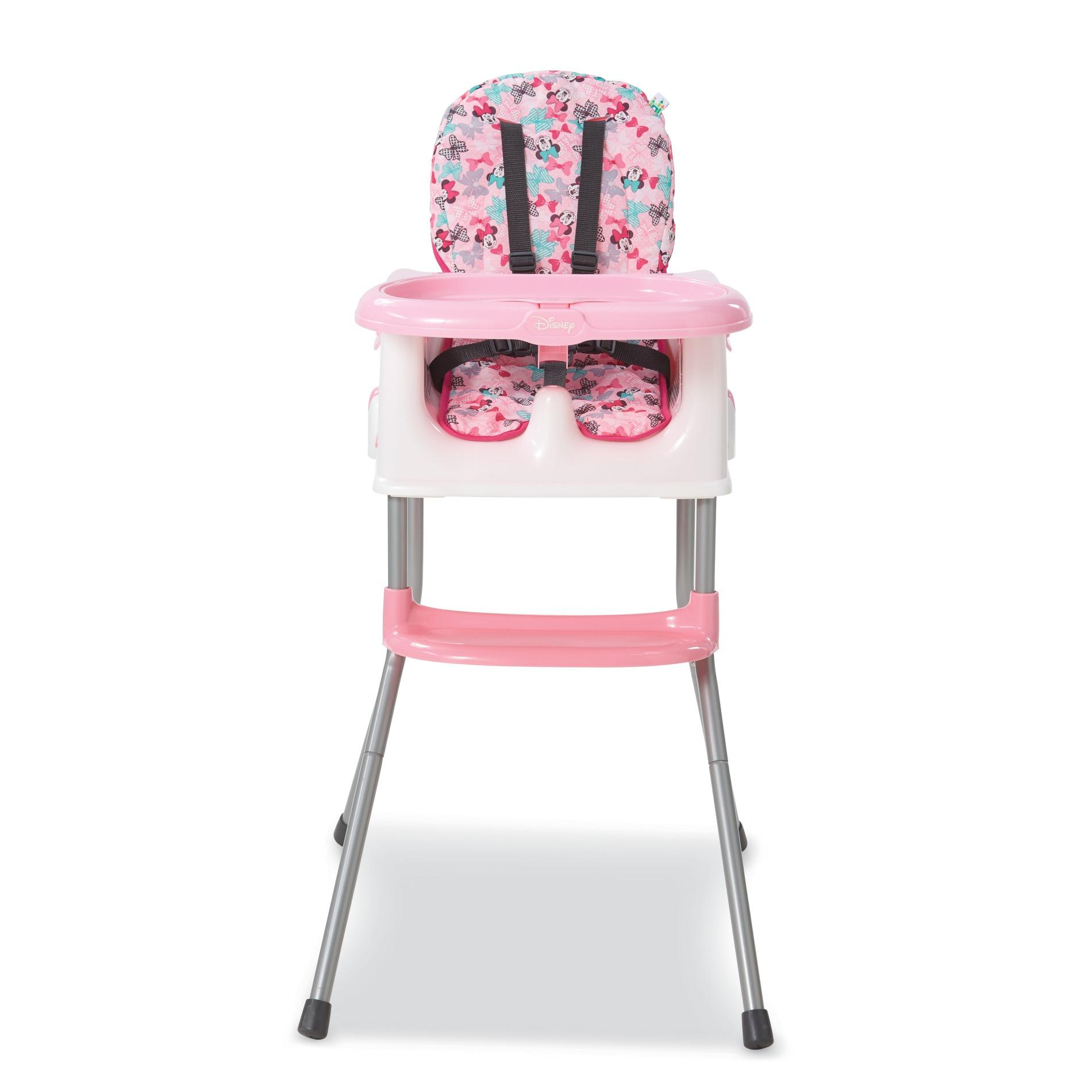 b kitchen high chairs Disney Baby Minnie Bowtiful 4 in 1 High Chair