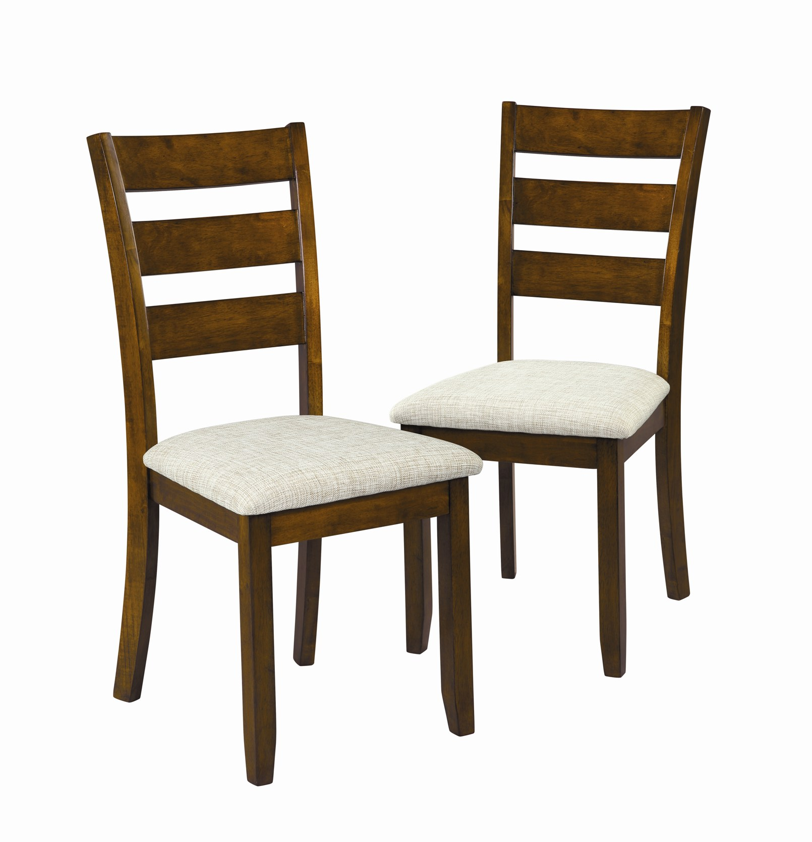 b rolling kitchen chairs Essential Home Set of 2 Glenview Dining Chairs