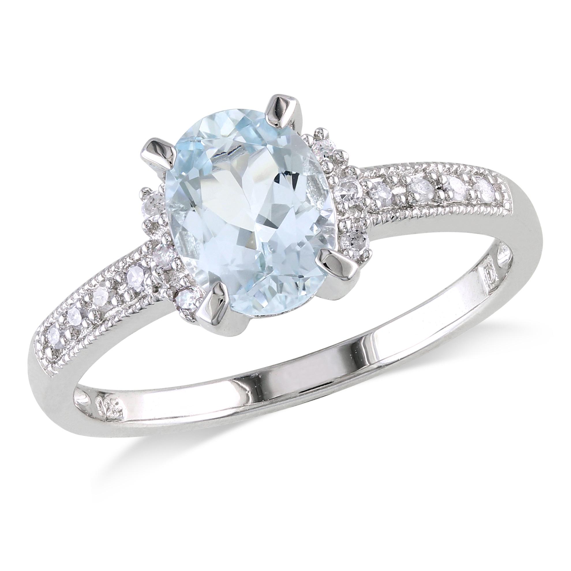 b purple wedding rings Gemstone