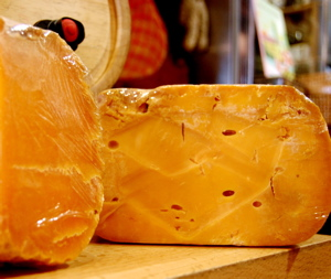 Mimolette Cheese.