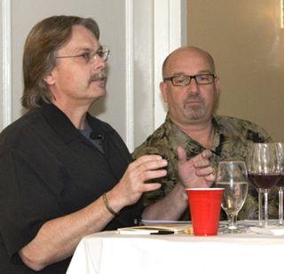 Bob Cabral and Michael Jordan