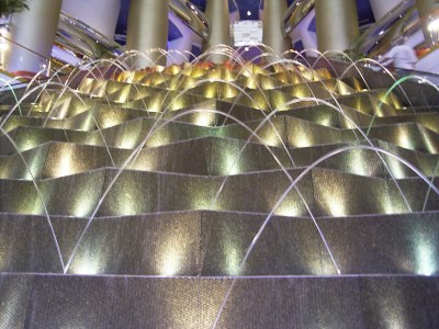 Burj Al-Arab Water Fountain | This is a picture of part of ...