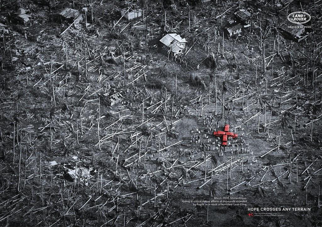 Land Rover - Hope crosses any terrain 1